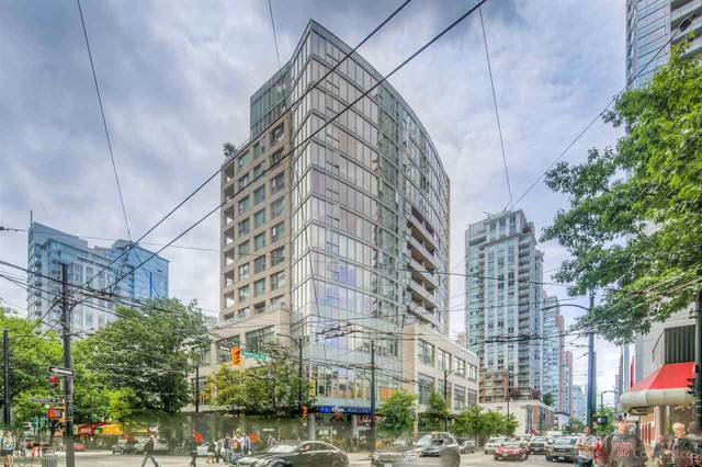822 Seymour Street #907, Vancouver, BC V6B 1L7 (#R2501954) :: Premiere Property Marketing Team