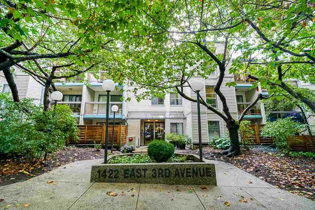 1422 E 3RD Avenue #220, Vancouver, BC V5N 5R5 (#R2502891) :: Ben D'Ovidio Personal Real Estate Corporation | Sutton Centre Realty