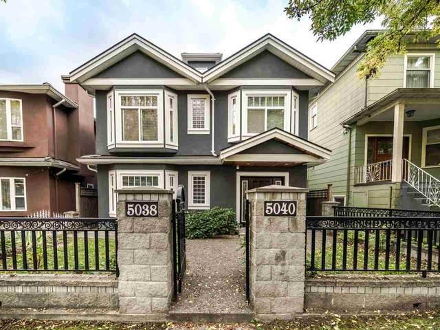 5040 Elgin Street, Vancouver, BC V5W 3J6 (#R2507459) :: Homes Fraser Valley
