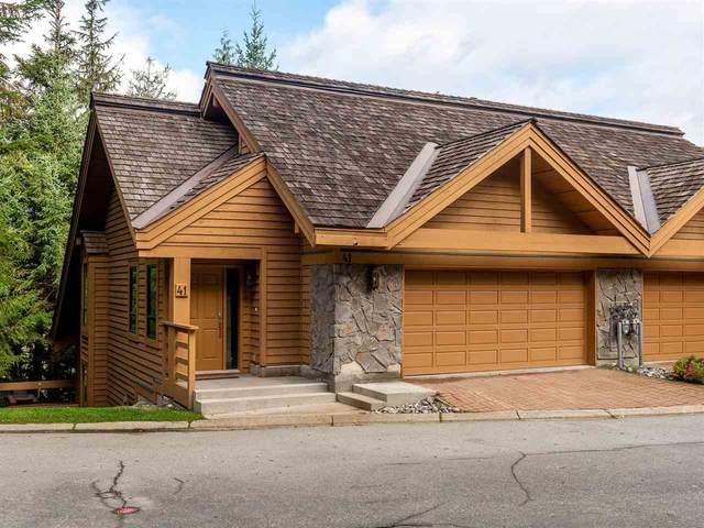 4150 Tantalus Drive #41, Whistler, BC V0N 1B4 (#R2507499) :: Homes Fraser Valley