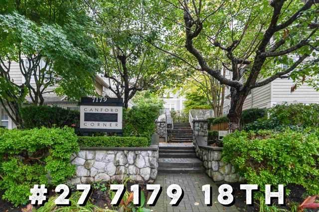 7179 18TH Avenue #27, Burnaby, BC V3N 1H2 (#R2508492) :: 604 Home Group