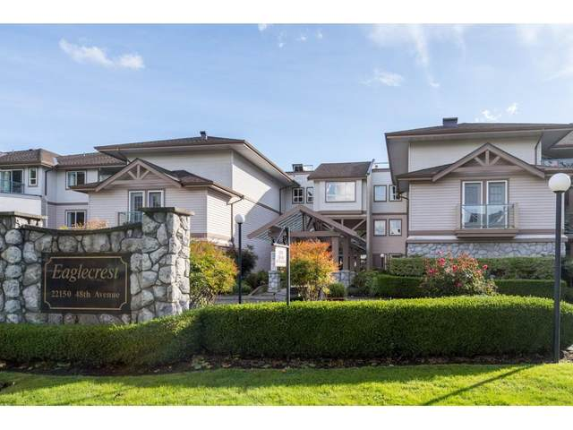 22150 48 Avenue #212, Langley, BC V3A 8R5 (#R2508991) :: 604 Home Group