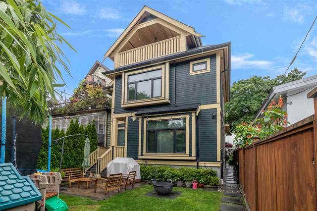 1758 E 13TH Avenue, Vancouver, BC V5N 2C1 (#R2509068) :: 604 Home Group