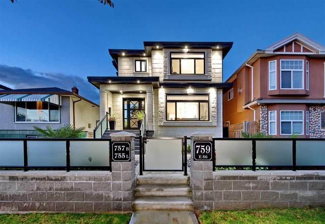 759 E 56TH Avenue, Vancouver, BC V5X 1R8 (#R2510993) :: Homes Fraser Valley