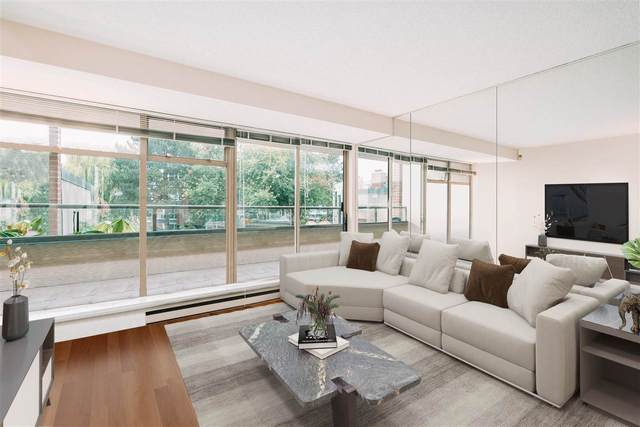 1515 W 2ND Avenue #209, Vancouver, BC V6J 5C5 (#R2511305) :: 604 Home Group