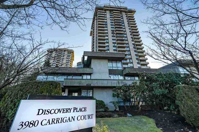 3980 Carrigan Court #1502, Burnaby, BC V3N 4S6 (#R2511654) :: 604 Home Group