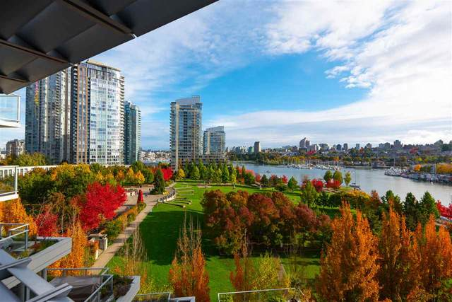 638 Beach Crescent #802, Vancouver, BC V6Z 3H4 (#R2511968) :: Initia Real Estate