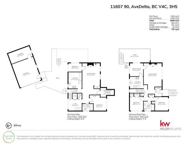 11607 90 Avenue, Delta, BC V4C 3H5 (#R2512455) :: 604 Home Group