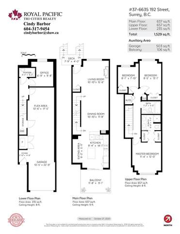 6635 192 Street #37, Surrey, BC V4N 5T9 (#R2513101) :: 604 Home Group