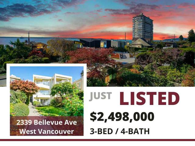 2339 Bellevue Avenue, West Vancouver, BC V7V 1C9 (#R2513222) :: 604 Home Group