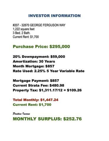 32870 George Ferguson Way #207, Abbotsford, BC V2S 7K1 (#R2519075) :: Homes Fraser Valley