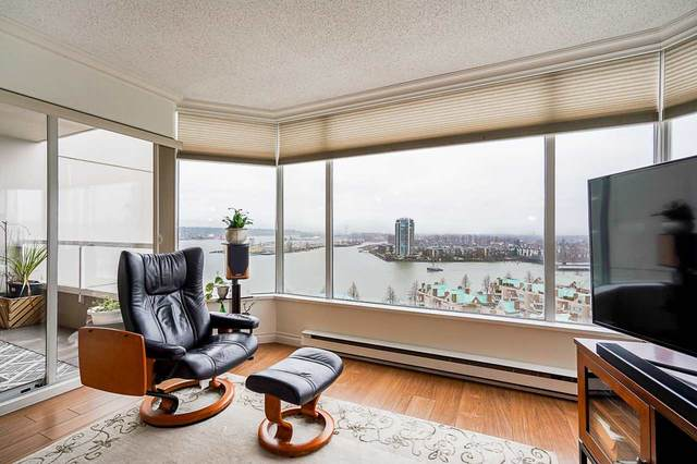 1065 Quayside Drive #1606, New Westminster, BC V3M 1C5 (#R2539585) :: RE/MAX City Realty