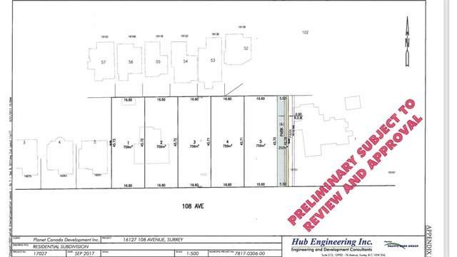 16127 108 Avenue Lot #1, Surrey, BC V4N 1P2 (#R2540733) :: 604 Realty Group