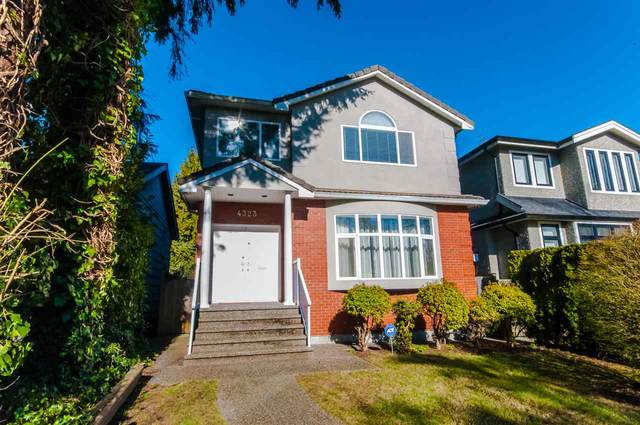 4323 W 14TH Avenue, Vancouver, BC V6R 2X9 (#R2542239) :: Macdonald Realty