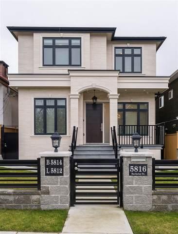 5816 Berkeley Street, Vancouver, BC V5R 3H2 (#R2542375) :: RE/MAX City Realty