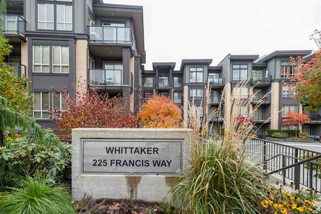 225 Francis Way #318, New Westminster, BC V3L 0G1 (#R2543018) :: RE/MAX City Realty