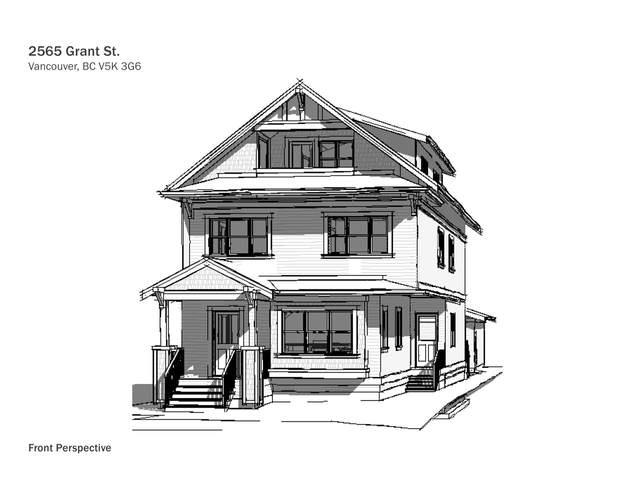 2565 Grant Street, Vancouver, BC V5K 3G6 (#R2543512) :: Macdonald Realty