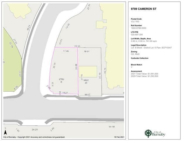 9789 Cameron Street, Burnaby, BC V3J 7Y5 (#R2543720) :: 604 Realty Group