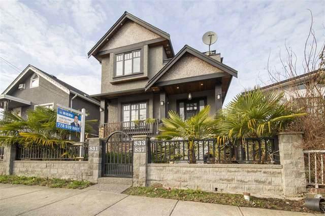 831 E King Edward Avenue, Vancouver, BC V5V 2E5 (#R2545984) :: Macdonald Realty