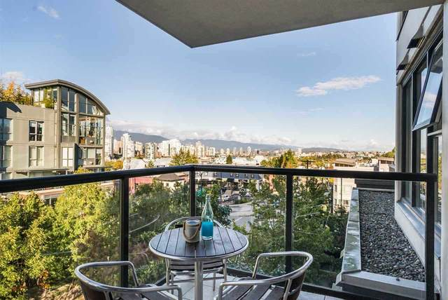 1428 W 6TH Avenue #504, Vancouver, BC V6H 4H4 (#R2546266) :: RE/MAX City Realty