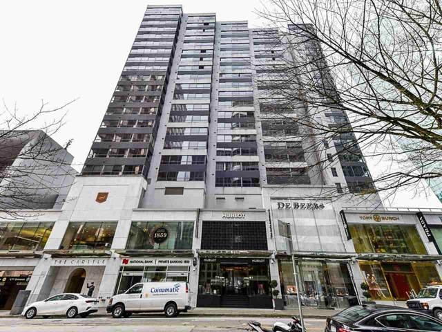 1060 Alberni Street #807, Vancouver, BC V6E 4K2 (#R2546942) :: Macdonald Realty