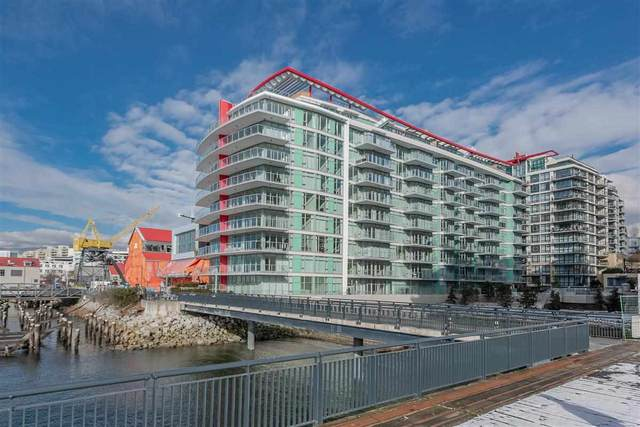 175 Victory Ship Way #410, North Vancouver, BC V7L 0G1 (#R2552269) :: Ben D'Ovidio Personal Real Estate Corporation | Sutton Centre Realty