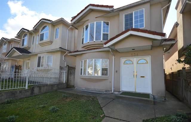 534 E 17TH Avenue, Vancouver, BC V5V 1B3 (#R2552713) :: Ben D'Ovidio Personal Real Estate Corporation | Sutton Centre Realty