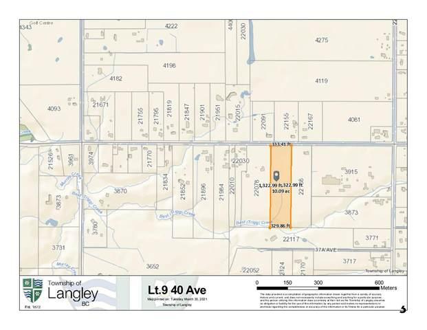 LOT 9 40 Avenue, Langley, BC V0V 0V0 (#R2561661) :: 604 Realty Group