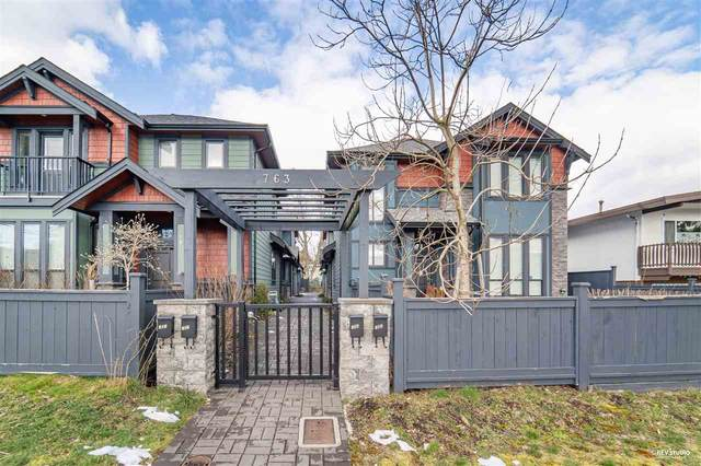 763 Miller Avenue #104, Coquitlam, BC V3J 4K4 (#R2562073) :: 604 Realty Group