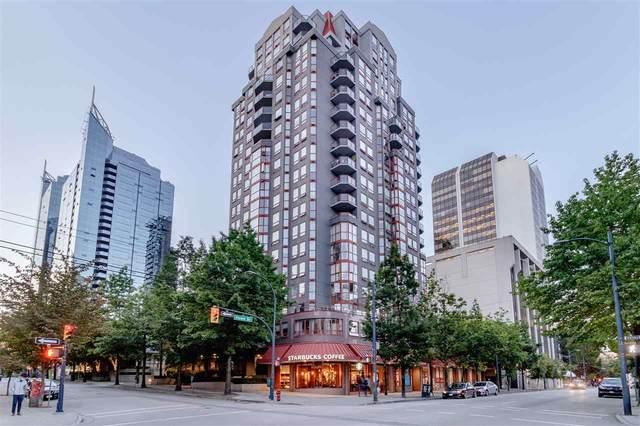 811 Helmcken Street #1604, Vancouver, BC V6Z 1B1 (#R2565686) :: 604 Realty Group
