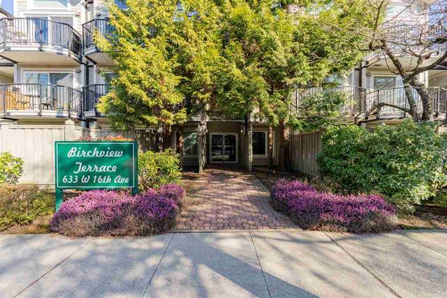 633 W 16Th Avenue #211, Vancouver, BC V5Z 1S5 (#R2567278) :: Premiere Property Marketing Team