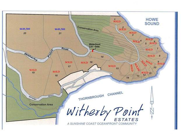 Lot 21 Witherby Point Road, Gibsons, BC V0N 1V0 (#R2572107) :: RE/MAX City Realty
