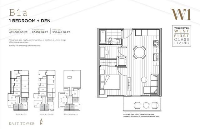433 SW Marine Drive #2007, Vancouver, BC V5X 0H5 (#R2576153) :: Initia Real Estate