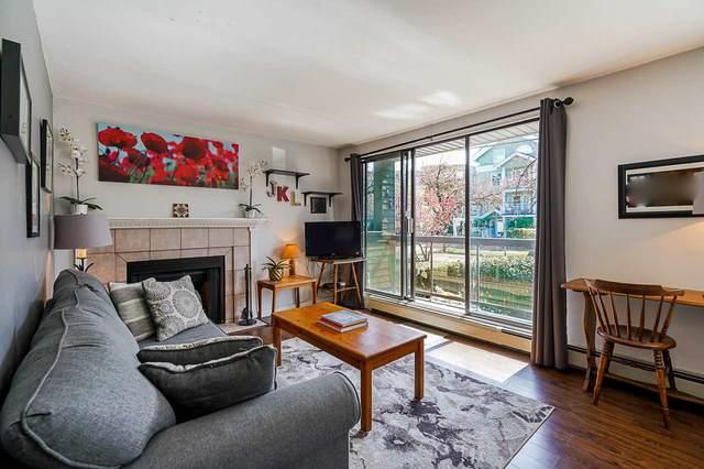 1875 W 8TH Avenue #205, Vancouver, BC V6J 1V9 (#R2577003) :: Initia Real Estate