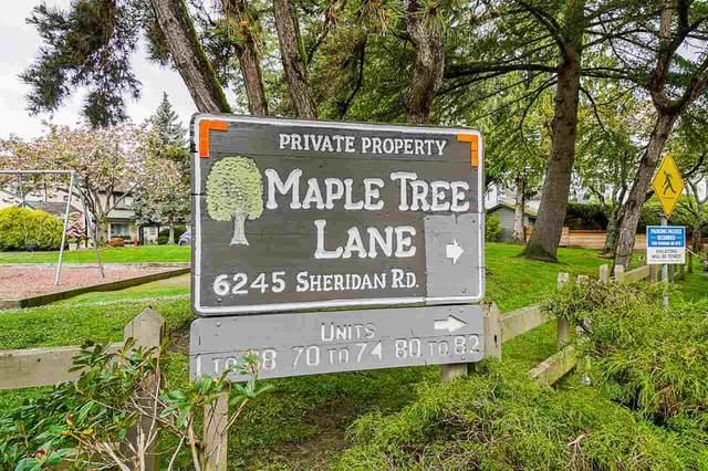 6245 Sheridan Road #71, Richmond, BC V7E 4W6 (#R2577465) :: 604 Realty Group