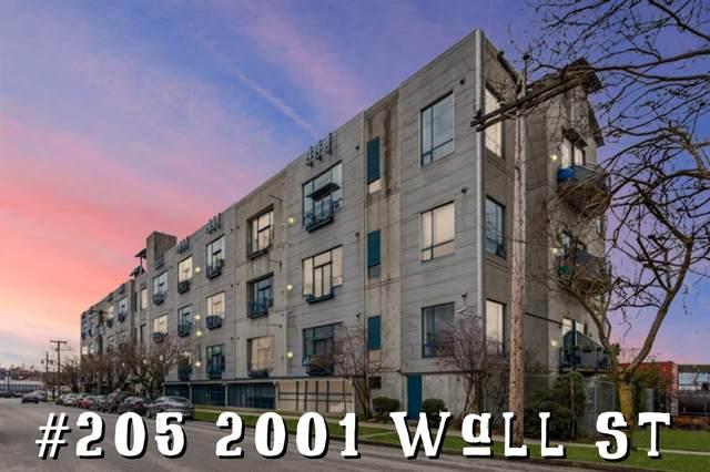 2001 Wall Street #205, Vancouver, BC V5L 5E4 (#R2587997) :: Premiere Property Marketing Team