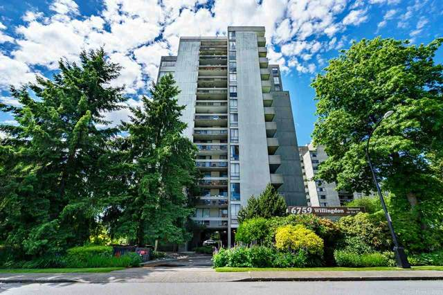 6759 Willingdon Avenue #1105, Burnaby, BC V5H 3Y9 (#R2591487) :: Premiere Property Marketing Team