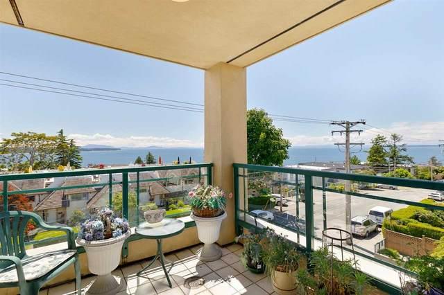 15169 Buena Vista Avenue #303, White Rock, BC V4B 1Y2 (#R2592143) :: Premiere Property Marketing Team