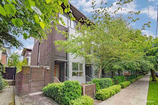 2172 W 8TH Avenue, Vancouver, BC V6K 2A4 (#R2593249) :: Initia Real Estate