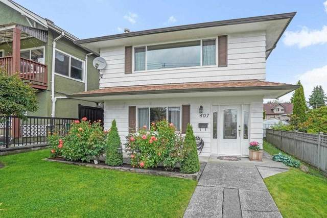 407 School Street, New Westminster, BC V3L 3M1 (#R2593334) :: 604 Home Group