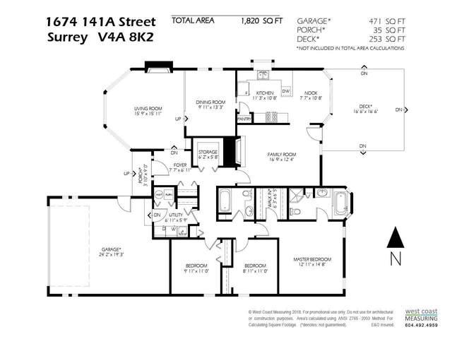 1674 141A Street, Surrey, BC V4A 8K2 (#R2593683) :: 604 Home Group