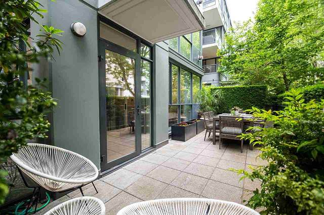1483 W 7TH Avenue #107, Vancouver, BC V6H 4H6 (#R2593711) :: 604 Home Group