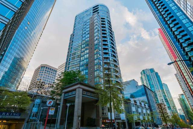 1166 Melville Street #907, Vancouver, BC V6E 4P5 (#R2594100) :: Initia Real Estate