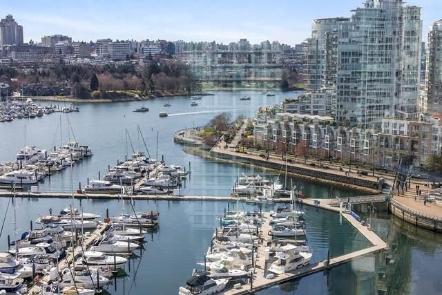 1067 Marinaside Crescent #1906, Vancouver, BC V6Z 3A4 (#R2595042) :: Homes Fraser Valley