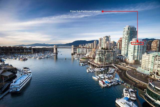 1501 Howe Street #1702, Vancouver, BC V6Z 2P8 (#R2595474) :: 604 Realty Group