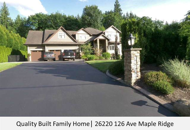 26220 126 Avenue, Maple Ridge, BC V2W 1C9 (#R2595589) :: Premiere Property Marketing Team