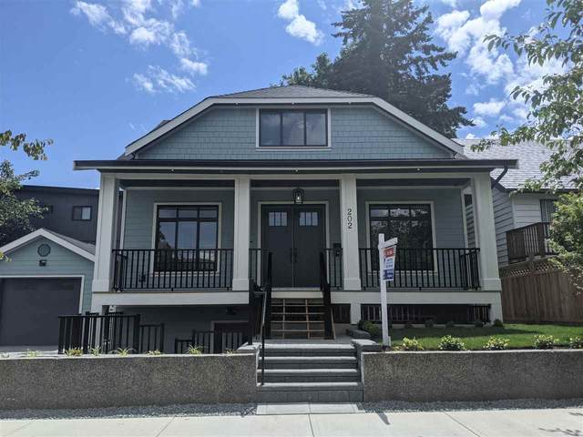 202 Seventh Avenue, New Westminster, BC V3L 1W5 (#R2601496) :: Initia Real Estate