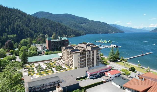 120 Esplanade Avenue #602, Harrison Hot Springs, BC V0M 1K0 (#R2601673) :: Premiere Property Marketing Team