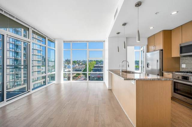38 W 1ST Avenue #802, Vancouver, BC V5Y 0K3 (#R2603411) :: Ben D'Ovidio Personal Real Estate Corporation | Sutton Centre Realty