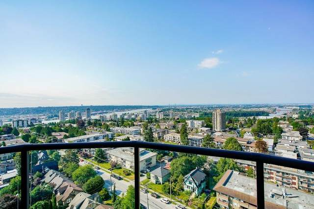 612 Fifth Avenue #1803, New Westminster, BC V3M 1X5 (#R2603804) :: Initia Real Estate